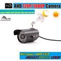 Súper CCTV 2MP HD 1920 P AHD Cámara de Seguridad de Metal Shell ABS Soporte de Video Vigilancia Al Aire Libre Impermeable 36 LED infrarrojo envío