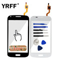 Touch Screen Digitizer For Samsung Galaxy Core Duos i8260 i8262 Touchscreen Sensor Front Glass Digitizer Parts Adhesive Logo