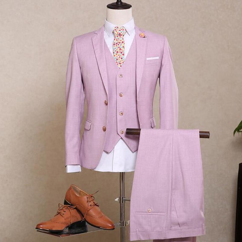 Garçons Entaillé Mesure Costumes Pour De Hommes Le Pièce Pantalon Gilet Sur  Deux Trois À Marié D honneur Formelle Mariage veste Smokings Revers Boutons  ... 574d8c48fef