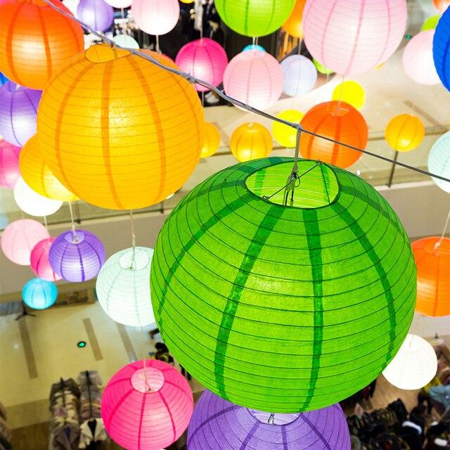 Chất lượng cao 20 cm Vòng Giấy Đèn Lồng Giấy Flower Balls Tổ Ong Bóng Treo Đèn Lồng Cho Đám Cưới Trang Trí Bên nguồn cung cấp