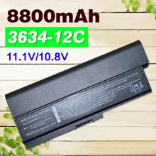 12 תאים 8800mah נייד סוללה PA3634 עבור Toshiba Satellite Pro 3000 C650 C660 L510 L600 L630 L640 L650 L670 m300 T130 U400
