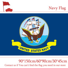 Free shipping 1PC 90*150cm 60*90cm The Navy Secretary Flag 30*45cm Car 3x5ft Hanging 100d Polyester