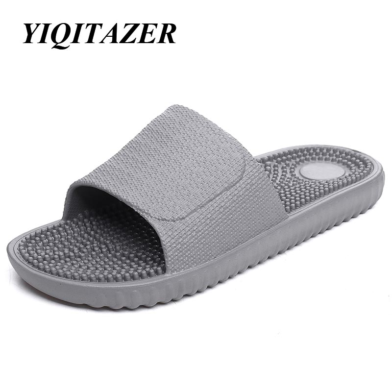 yiqitazer 2017 summer fashion casual shoes men slippers quality
