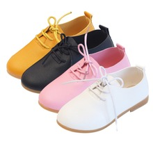 2020 New Boys Leather Shoes Children Leather Wedding PU Shoes