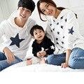 A la venta de moda de verano juego de ropa trajes madre padre hija hijo ropa de la familia establece familia mirada muchacho camiseta FD05