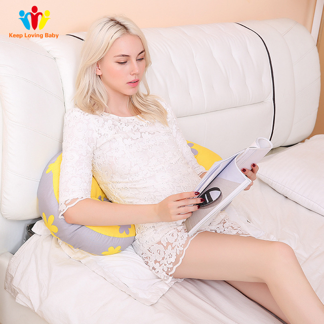 Pillow for pregnant women U Type Belly Support Side Sleepers Pregnancy  Protect Waist Sleep Pillow  2