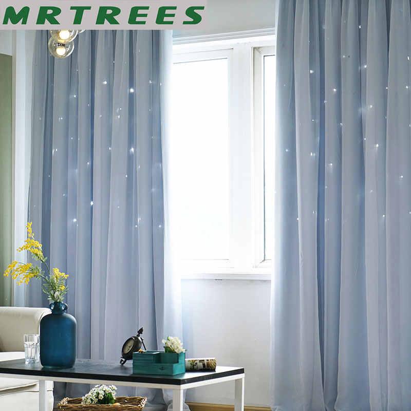 Blackout Vorhänge für wohnzimmer Rosa Stern Prinzessin Mädchen Schlafzimmer Fenster Behandlung kinder Tür Vorhänge Stoff Vorhänge Cortinas