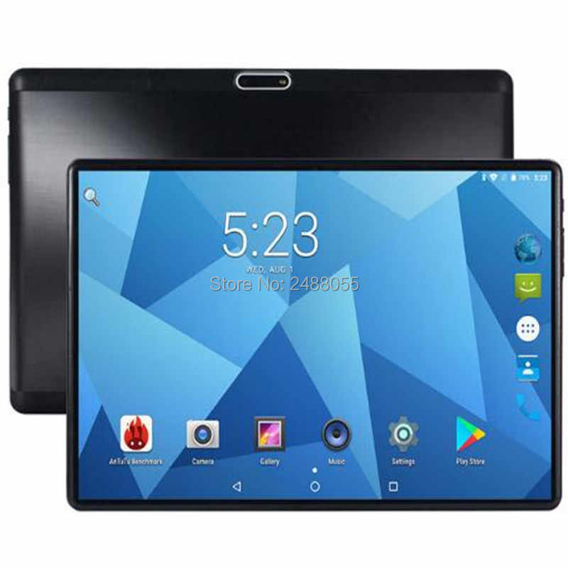 Hard 2.5D Glass 10 inch tablet Android 8.0 Octa Core 4G FDD LTE 4GB RAM 32GB ROM 8 Cores 1280x800 IPS Screen GPS Tablets 10.1