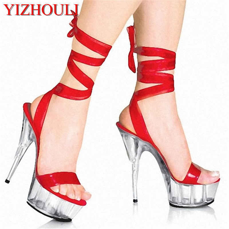 15cm high-heeled shoes lady platform crystal sandals low price dance shoes 5 inch high heels sexy stripper shoes светильник на штанге idlamp 863 863 2pf oldbronze page 9