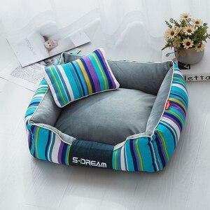 Image 2 - JORMEL łóżko dla psa na duże psy wodoodporna odpinana Sofa wypoczynkowa Cat Bull łóżko dla psa ding hodowla mycie mechaniczne produkty dla zwierzaka domowego łóżko