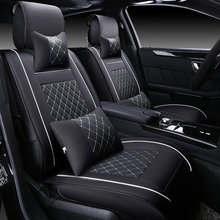(Front + Rear) Special Leather car seat covers For Peugeot 307 206 308 407 207 406 408 301 3008 5008 car accessories car styling