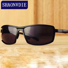 SHAONVDIE Aluminum Magnesium Brand Designer Polarized Sunglasses Men Glasses Driving Glasses Summer 2017 Eyewear Accessories 207
