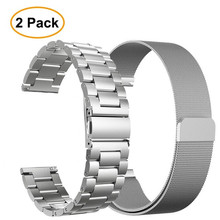 Stainless Steel Metal Strap band For Amazfit GTR 47 Xiaomi Huami Stratos 2 2S  bracelet strap smart watch