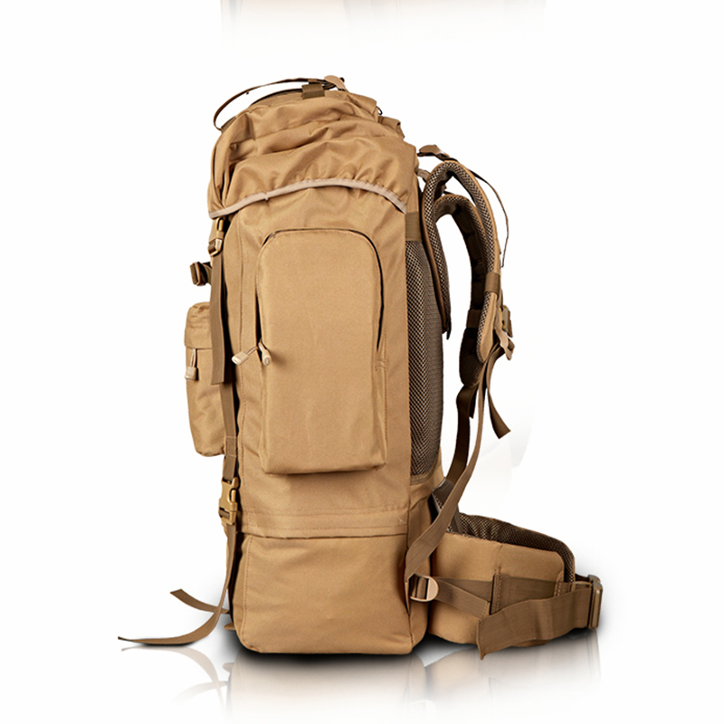 70L Metal Steel Frame Bag Men\'s New Military Backpack Waterproof ...