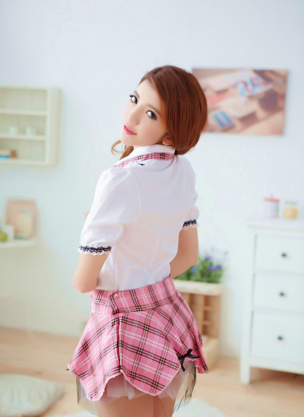 sexy lingerie school girl ropa interior mujer erotica cosplay pink sexy costumes student uniform sex products women
