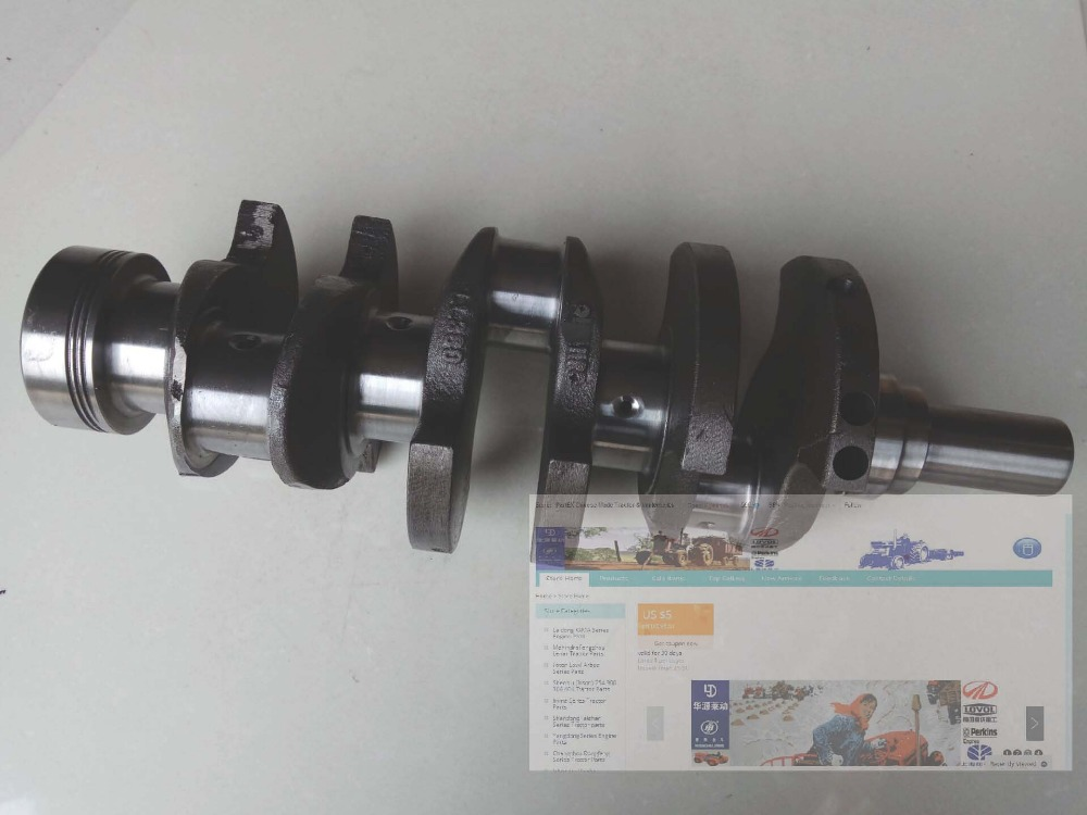 Laidong engine parts LL380BT, the crankshaft, part number: LL380B-05003 jiangdong engine parts for tractor the set of fuel pump repair kit for engine jd495