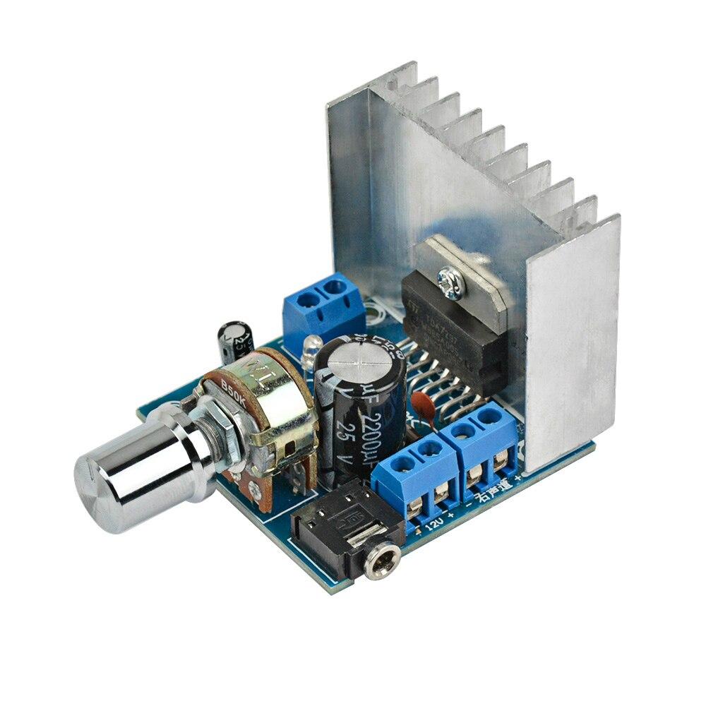 2.0 amplificador estéreo tda7297 amplificadores de áudio duplo canal 15 w + 15 amplificador placa diy para o teatro em casa