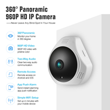 360 Degree Wireless Panoramic Camera Built-in MIC