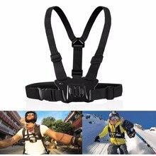 Elastic Chest Strap Belt Harness Adjustable Mount Holder Action Camera For Gopro Hero Mobile Phone Outdoor Sports Chest Strap