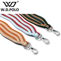 W.D.POLO Strapper you bag strap handbag strap ripple design and plaid pattern can be choice lady shoulder bag strap hot M2556