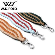 W. D. POLO Strapper vous sac bracelet sac à main sangle ondulation conception et plaid motif peut être choix dame épaule sac bandoulière chaude M2556