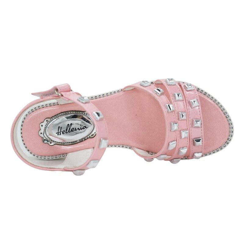 Helleniagirls Sandalen Zomer Kinder schoenen Lage hakken Feestjurk - Kinderschoenen - Foto 5
