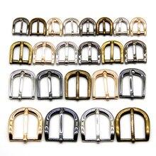 10 шт./лот, 11 мм/13 мм/15 мм/20 мм/25 мм, серебристые, бронзовые, золотые, квадратные металлические пряжки для обуви, сумок, ремней, украшения, аксессуары для шитья