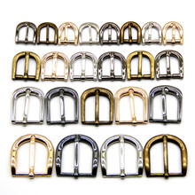 10pcs/lot 11mm/13mm/15mm/20mm/25mm silver bronze gold Square metal shoes bag Belt Buckles decoration DIY Accessories Sewing