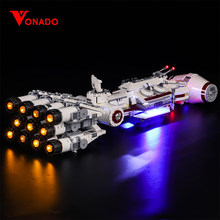 Vonado LED Light For 75244 Star Wars Series Tantive IV Spacecraft Technic Series Boy Girl Building Block Toy (Only Light)(China)