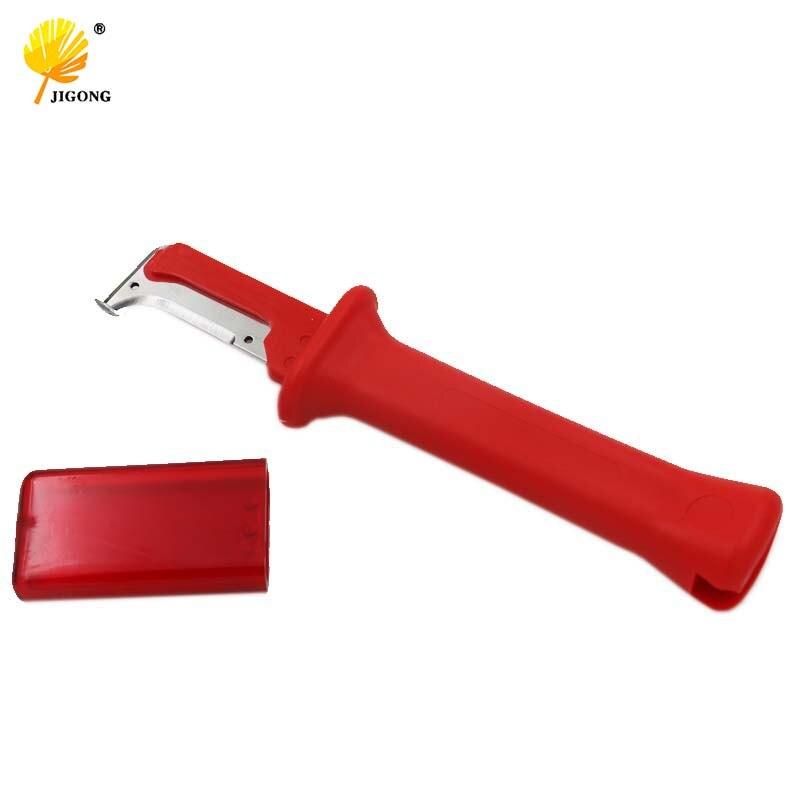JIGONG Deutsch Typ Elektrische Isolierung Kabel Abisolieren Messer