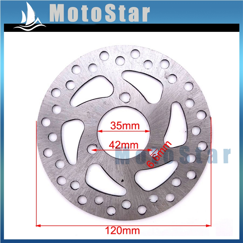 Race-Guy 29mm 140mm Steel Brake Disc Rotor For 2 Stroke 47cc 49cc Gas Electric Scooter Pocket Bike Mini Dirt Kids ATV Quad 4 Wheeler