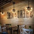 2016 feijão mágico pingente lustres lâmpadas ac 110-240 v led de dna bolha de Vidro Moderna Pingente Luz Para Sala de estar Do Hotel Shopping decoração