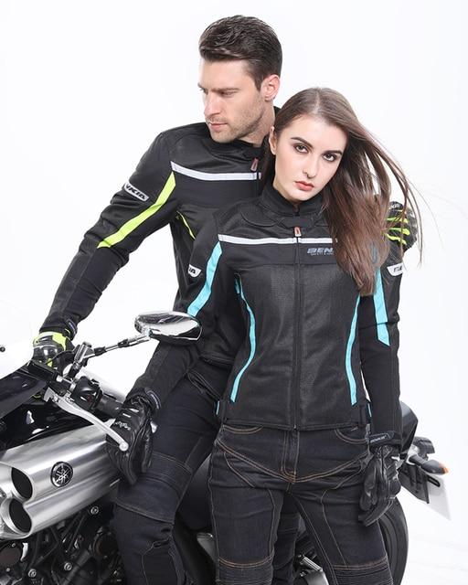 Benkia Motorcycle Jackets Women S Mesh Moto Jacket Motocross Riding
