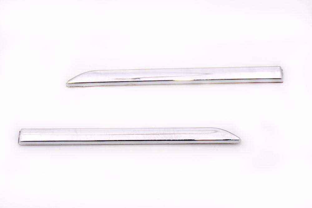 1 Paire Chrome Fender Bande Garniture De Moulage Moulage Garnish Pour Mercedes Benz Classe C W204 2007-2010