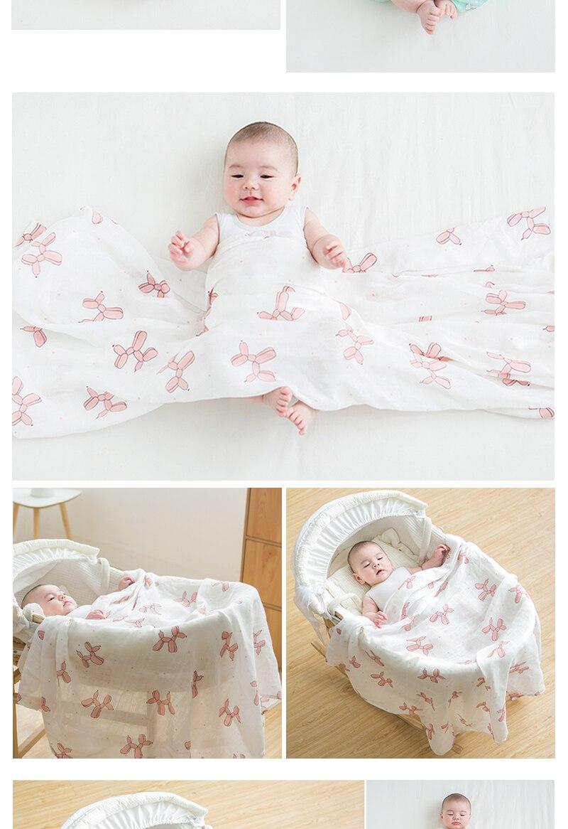 uso bonito coelho unicórnio baleia cobertor do bebê 120*120cm