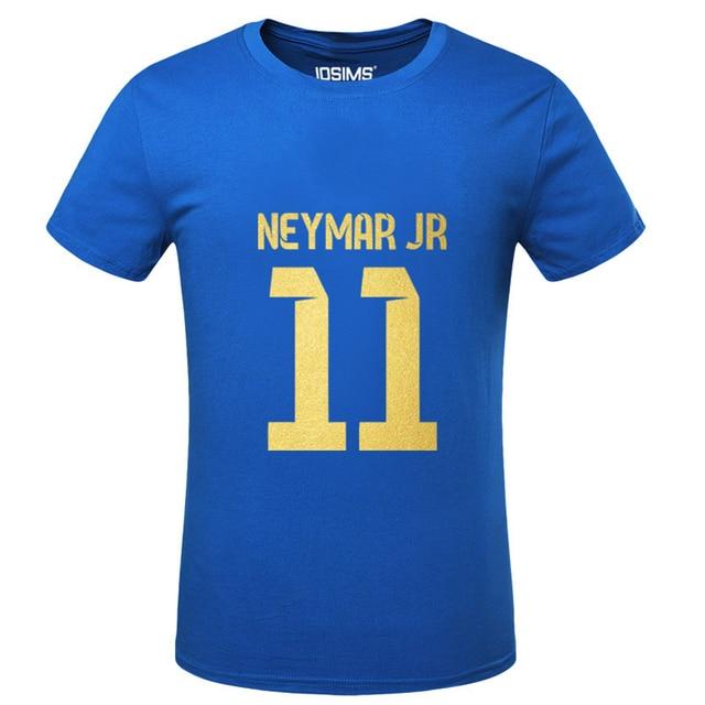 DREAK Summer World Cup Neymar da Silva men's T-shirt maillot de foot camisetas de futbol man t shirt summer 2016 bodybuilding
