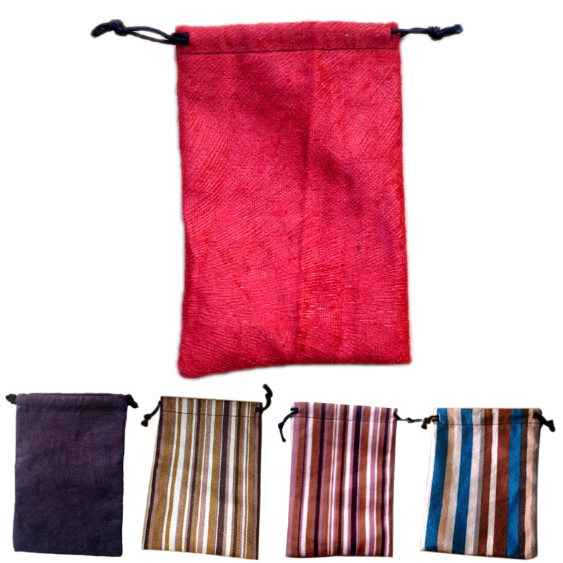 2pcs board game dice bag for Dungeons&Dragons DICE D&D dices Magical cards the gathering Rope bag sack Poker chip bags container