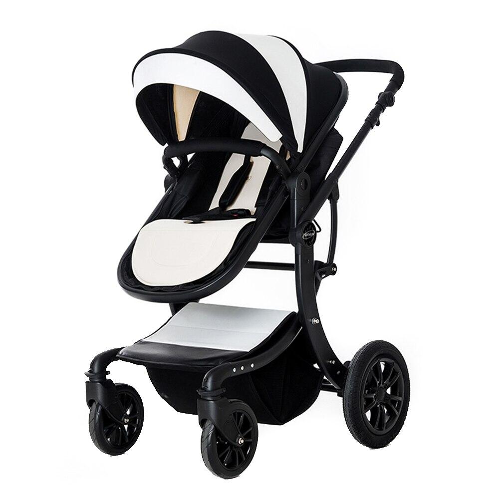 Baby Stroller Foldable Pram High Landscape Newborn Baby Travel Stroller Carriage Wheelchair High View Landscap Wheelchair все цены