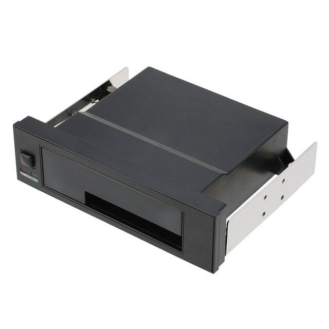Nội bộ Duy Nhất Bay Giá Điện Thoại Di Động Bao Vây với Chỉ Thị LED Ánh Sáng Hỗ Trợ Hot-swap cho 2.5/3.5 inch SATA HDD SSD Phù Hợp Với PC 5.25''
