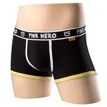 2017 Hot Sale Sexy Man Underwear Boxer Men's Cotton Underpants Fashion Design Male Men's comfortable panties shorts boxer