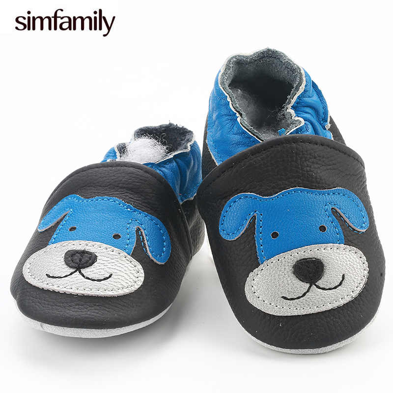[simfamily]Skid-Proof Baby Shoes Soft Leather Baby Boys Girls Infant Shoes Slippers 0-6 6-12 12-18 18-24 First Walkers[simfamily]Skid-Proof Baby Shoes Soft Leather Baby Boys Girls Infant Shoes Slippers 0-6 6-12 12-18 18-24 First Walkers