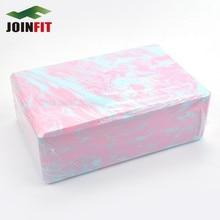 3 Color High Density PVC Yoga Blocks Health and Fitness Yoga Foam Bricks Color Mixing Free