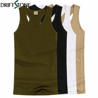 100 Cotton Men Tank Tops Summer Male Underwear Sleeveless Vest Breathable Flexible Casual Vest Field Lived