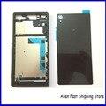 Оригинальный Жилищем Мобильного Телефона Для Sony Xperia Z3 L55 L55w D6603 D6653 жк-Панель Ближний Рамка Батареи Заднее Стекло Корпус + ЛОГОТИП