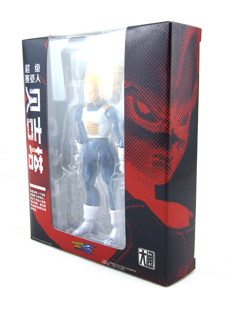 ФОТО New Akira Toriyama Comic Anime Dragon Ball Z Kai Vegeta Super Saiyan SHF Datong Version 15CM Action Figure Toys