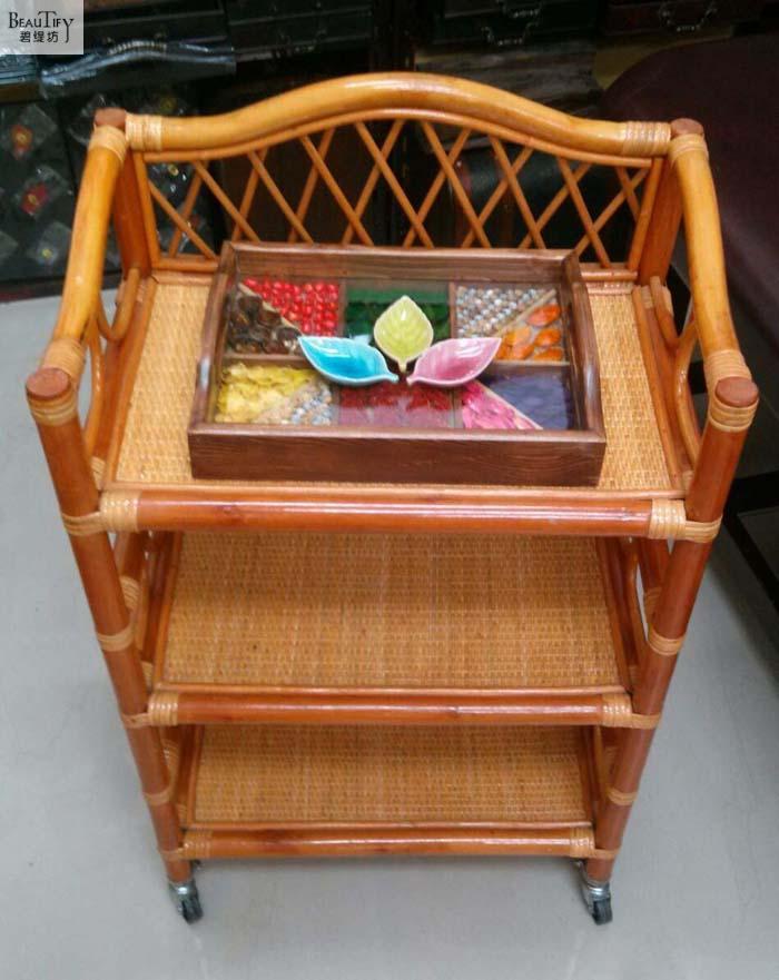 Трость изготавливается на ручной тележке. Бытовой корзину. Тележка для салона красоты. Красота инструмент