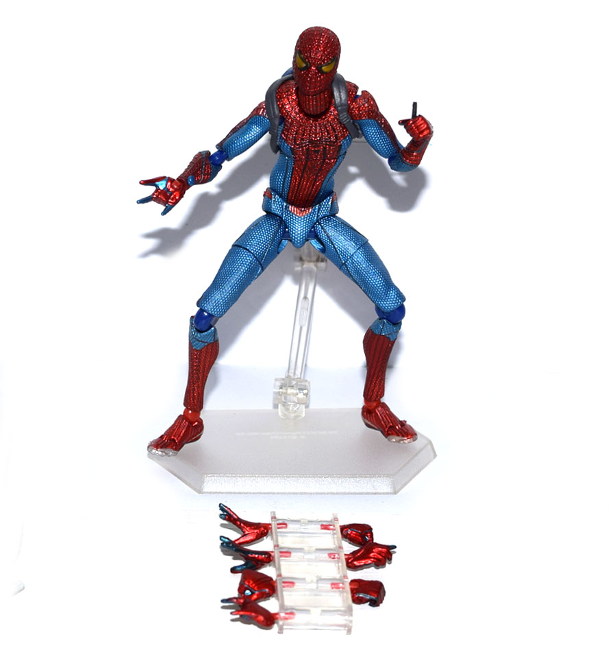 """Marvel Figma The Amazing Spiderman Homecoming 6/"""" Loose Action Figure"""
