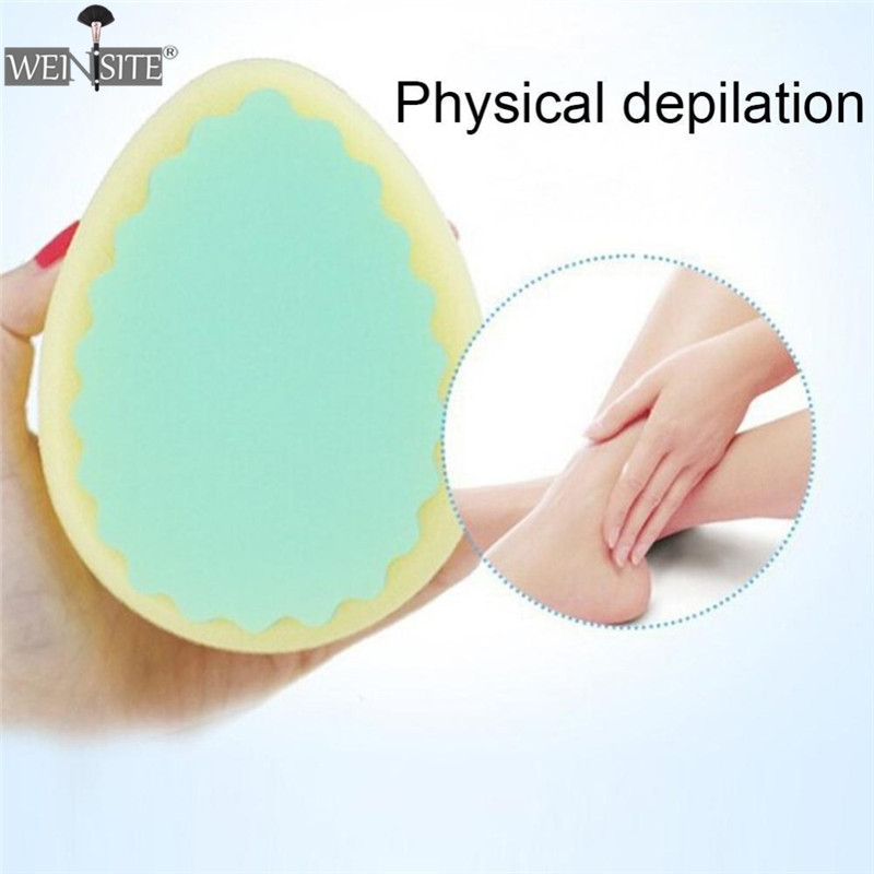 3 Shapes Magic Painless Hair Removal Sponge Soft Cute Lovely Women Depilation Tools Skin Care Sponges Beauty Ladies
