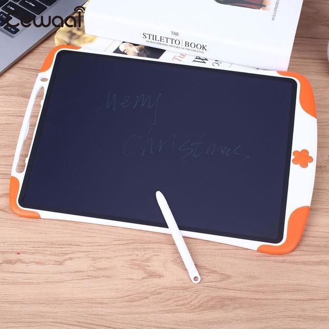 Cewaal Prancheta Eletrônica Prancheta de Desenho do bloco de Notas de 12 polegadas Crianças Tablet ferramenta de Desenho Crianças Presentes LCD Escrita Tablet
