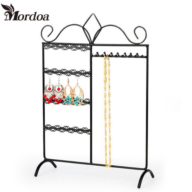 2016 Latest Version Jewelry Display Holder Stand Bracket for Earring Necklace Multifunctional